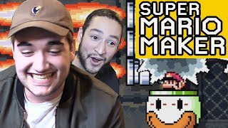 THE PAIN NEVER ENDS - 50/50 CHALLENGE SUPER MARIO MAKER