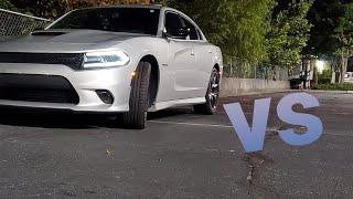 2020 Dodge Charger RT vs Challenger sxt