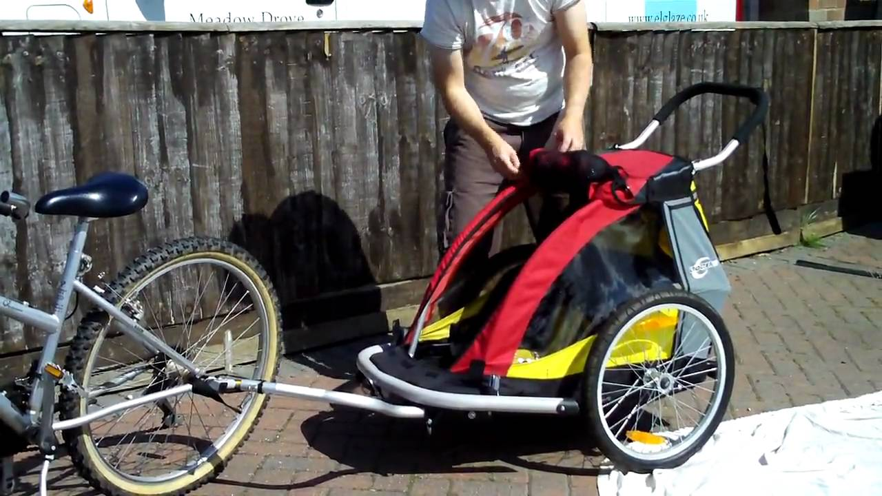 Copilot Bike Trailer