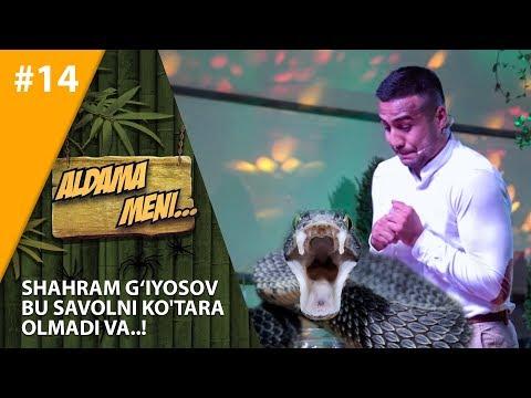 Aldama Meni 14-son Shahram G'iyosov Bu Savolni Ko'tara Olmadi Va..!