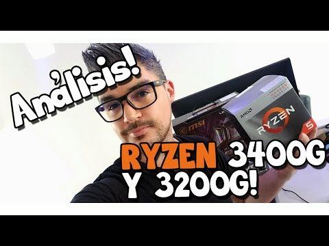 Análisis de los nuevos Ryzen 3400G y 3200G! PCs económicas para jugar, como nunca antes!!