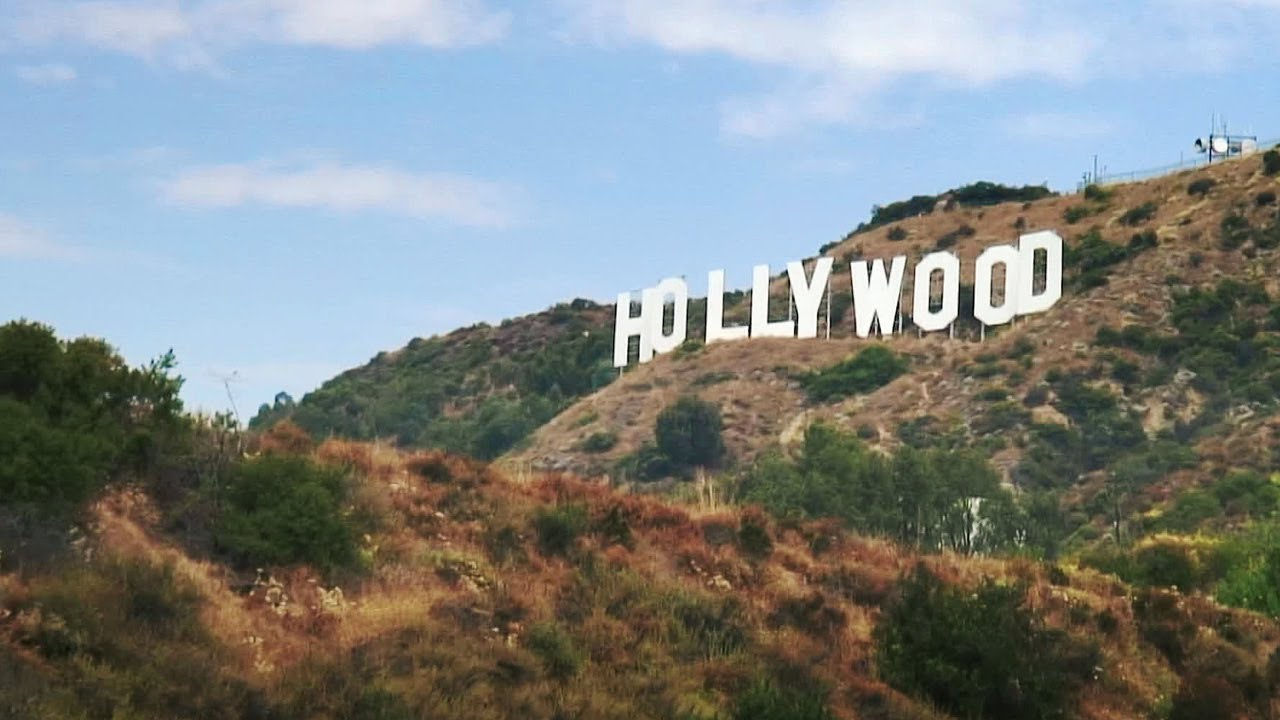 the hollywood sign los angeles california youtube