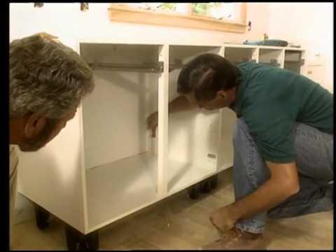 Installing European-Style Kitchen Cabinets