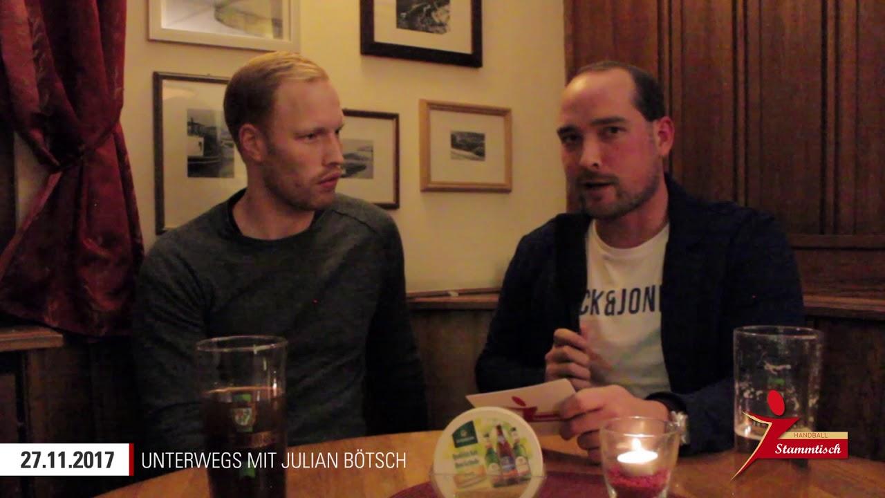 1. Handball-Stammtisch unterwegs am 27.11.2017 mit Julian Bötsch ...