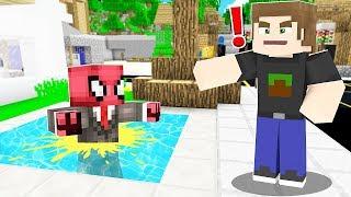 FAKİR HAVUZA ÇİŞİNİ YAPTI! 😱 - Minecraft
