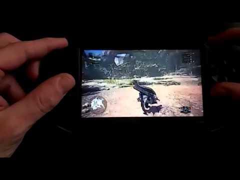 Monster Hunter World on PS Vita