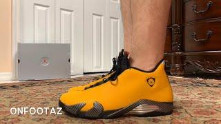 Air Jordan 14 XIV Yellow Reverse