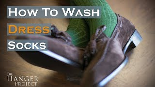 How to Wash Dress Socks