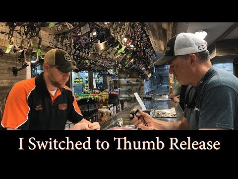 Why I Switched To Thumb Release For Bowhunting ) - Carter Just B Cuz