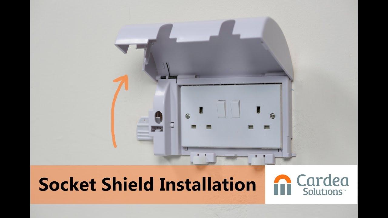Socketsafe Lockable Electric Socket Protector