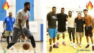 Lakers News: Julius Randle & Jordan Clarkson Work Out With Paul George, Dwyane Wade & More