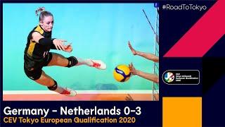 RoadToTokyo Germany The Netherlands 3 0 Match highlights