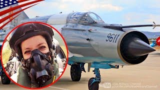 【まだまだ現役】MiG-21戦闘機 低空飛行コックピット映像&テイクオフ - ルーマニア空軍