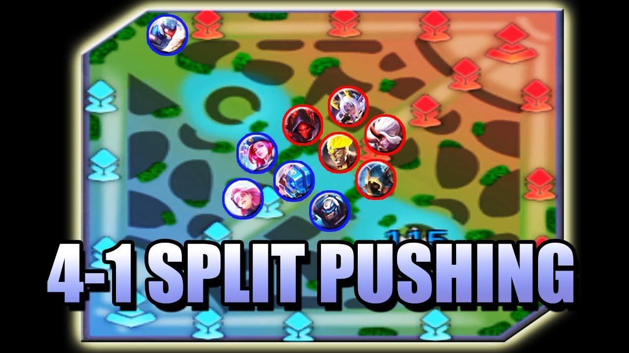 SPLIT PUSHING BASICS MOBILE LEGENDS - LEARN HOW TO SPLIT PUSH 🤸♀️ -  YouTube