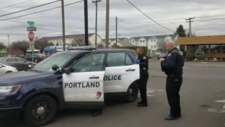 man with warrant turns himself in