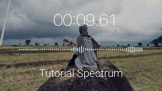 Cara Membuat Audio Spectrum Pake Foto Kita Sendiri di Android