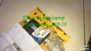 UnBoxing Transcent 4GB DDR3L RAM | Installing In SONY VAIO F-Series