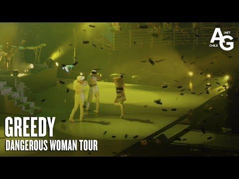 Ariana Grande - Greedy (Dangerous Woman Tour en Chile)
