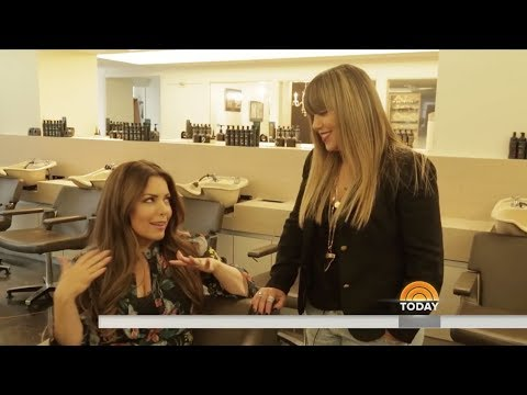 Rita Hazan on the Today Show—Lock + Block Summer Hair Hacks