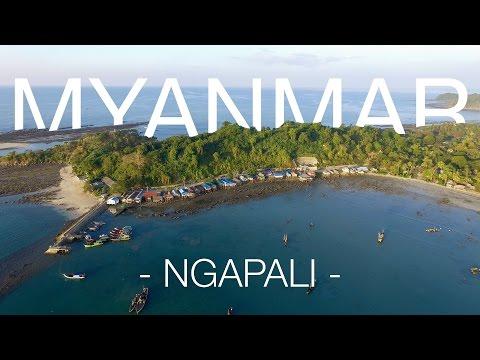 Land of Golden Pagodas (1/5) - Myanmar | Ngapali (4K, drone)