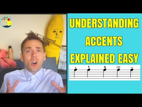 How to understand Music Accent symbols in under 10 minutes and play them!