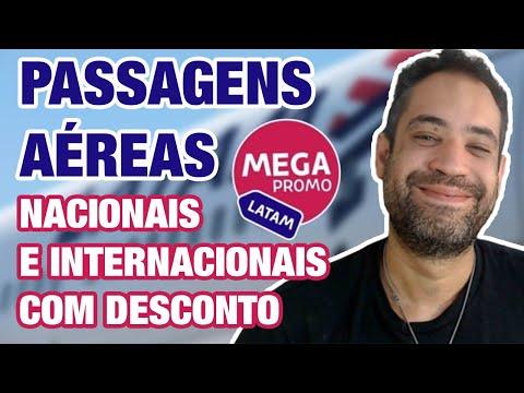 ☑ MEGA PROMO LATAM - PASSAGENS AÉREAS NACIONAIS E INTERNACIONAIS COM SUPER DESCONTO!