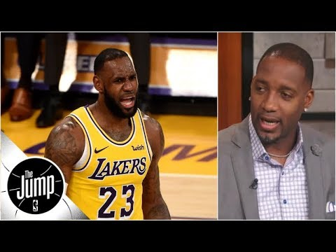 Tracy McGrady explains Lakers' two biggest problems | The Jump