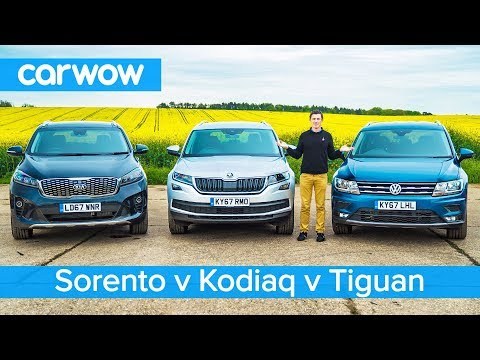 VW Tiguan-Allspace Vs Skoda Kodiaq Vs Kia Sorento - Which Is The Best 7-seater SUV?