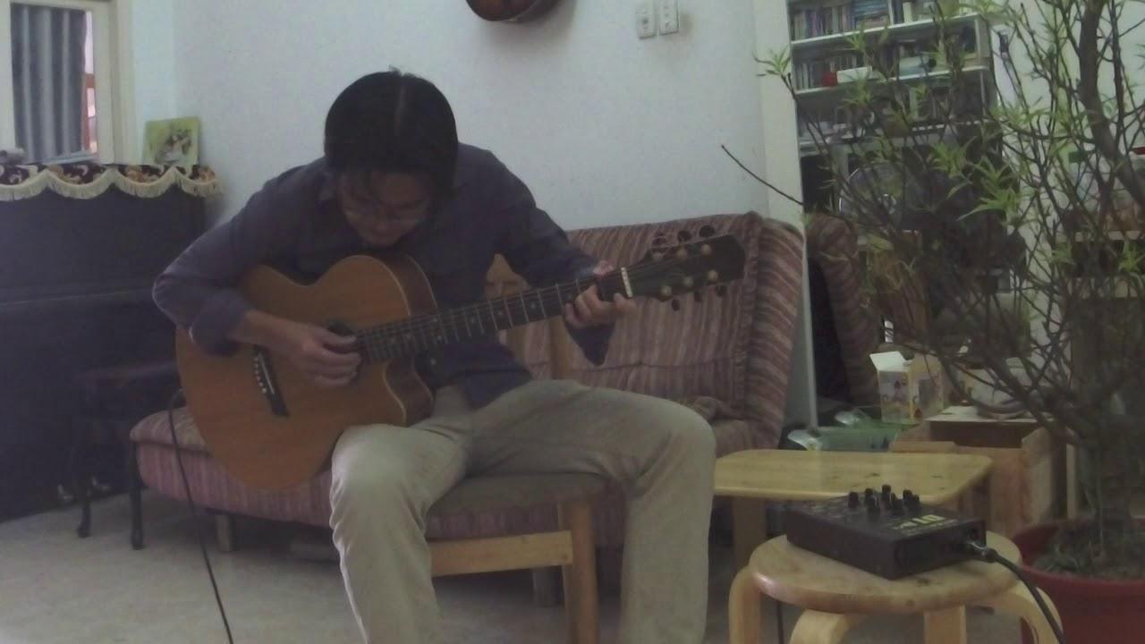 Chuyến tàu hoàng hôn - fingerstyle guitar solo #1