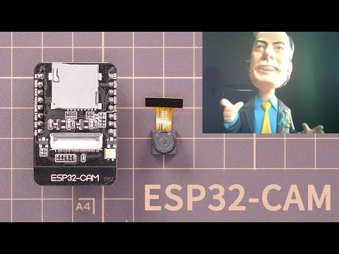 ESP32-CAM camera with ESPHome directly integrate into Home Assistant and Lovelace UI