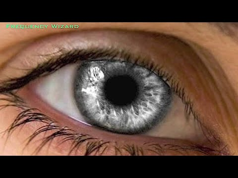Get Ultra Silver Gray Eyes Fast! Subliminals Frequencies Biokinesis Hypnosis Theta Binaural