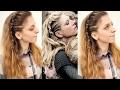 Vikings Inspired Lagertha Hair Tutorial | Viking Hairstyles | Braidsandstyles12