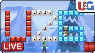 🔴Playing Viewer Courses 8.15.19 - Super Mario Maker 2 U2G Stream
