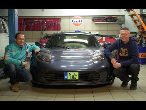 Tesla Roadster elektromos sportautó teszt - SportVerda (Tordai István, Warvasovszky János)