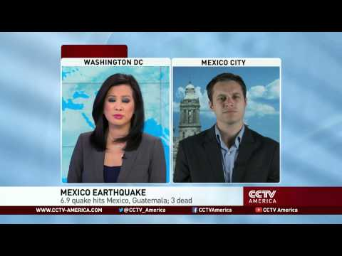 Earthquake hits Mexico, Guatemala resulting in 3 deaths