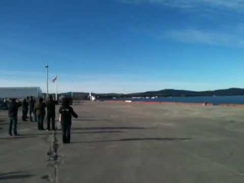 Twin Otter Short Takeoff Run From Dock