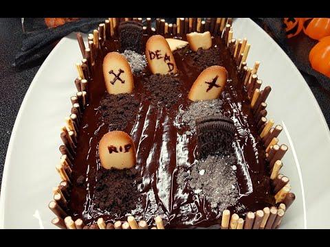 gâteau-cimetière-halloween-🧟♂️🎃/-cemetery-cake-halloween