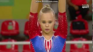 Angelina Melnikova RUS Qual BB Olympics Rio 2016