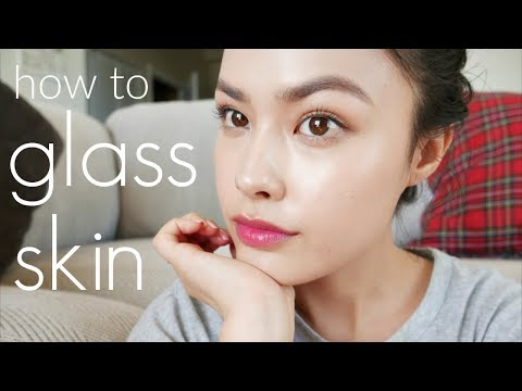 My Korean Glass Skin Tutorial | Perfect, Dewy Looking Skin through Makeup (REUPLOAD)