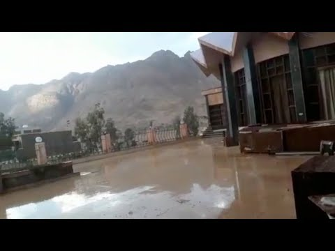 الوطن المصرية:أمطار الخير تسقط على سانت كاترين في بداية موسم السيول