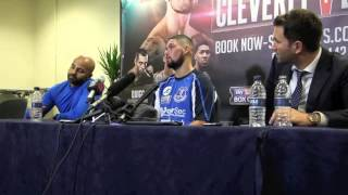 TONY BELLEW - 'MY DREAM IS GOODISON PARK, JUST STICK A RING IN THE MIDDLE & SEE WHAT HAPPENS'