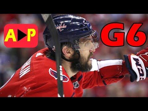 Tampa Bay Lightning vs Washington Capitals – May. 21, 2018 | Game 6 | Stanley Cup 2018. (HD)
