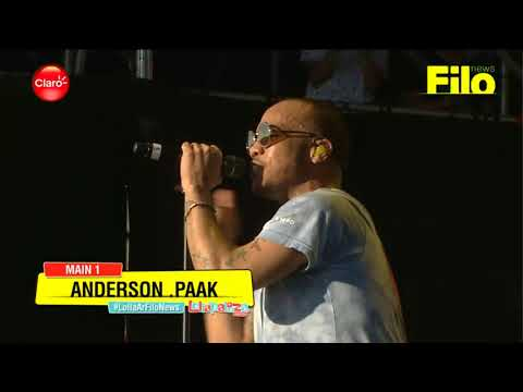 Anderson Paak @ Lollapalooza Argentina 2018