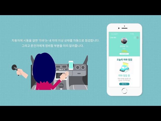 차와 앱 애니메이션