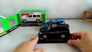 """Toyota Land Cruiser, модель 1:32 """"Автопром""""."""