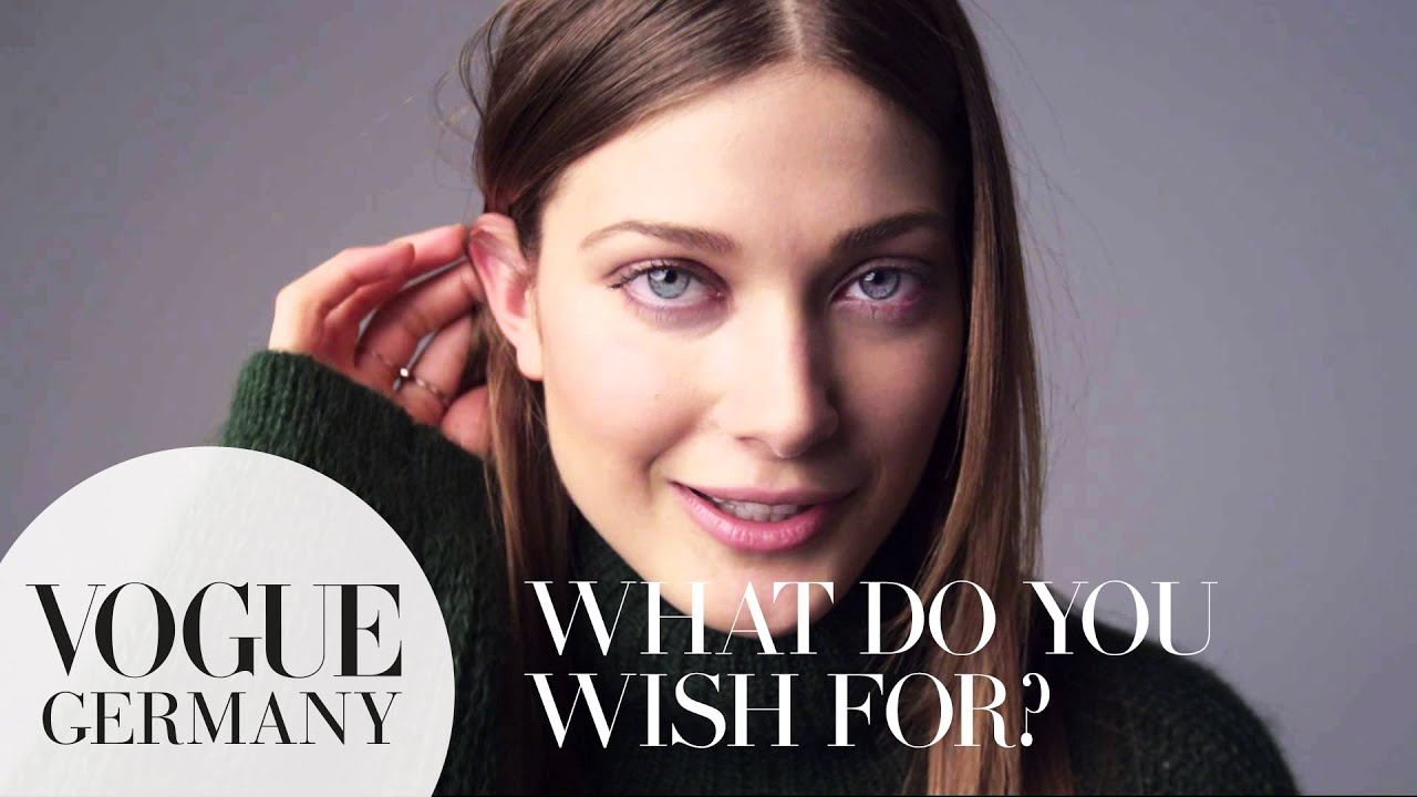 A wish for you – A Message for you by Larissa Hofmann for VOGUE Germany