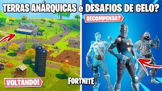FORTNITE-GLITCH of the CROOKED CITY, TEMPLE OF TOMATOES and BUNDLE OF ICE COMING BACK?