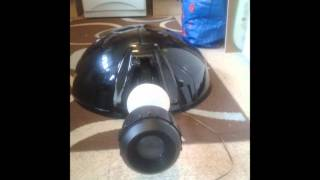 dalek build full size nsd dome and eye stalk.wmv