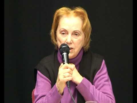Eva Bittner, Theatergründerin, ErzählCafé Januar 2...