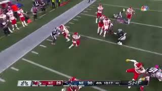 Tremon Smith 97 Yard Kickoff Return!!! - KC Chiefs vs Patriots